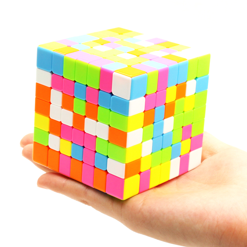 ZCUBE Magico Cubo 7x7x7 Magic Speed Cube Christams Gifts Professional Challenge 7x7x7 Speed Cube Puzzle Game