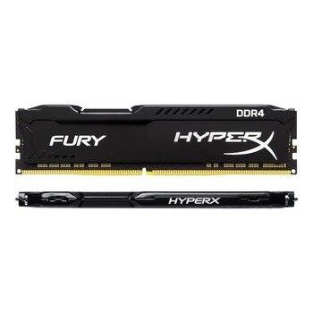 Kingston Hyperx Noir Fureur Memoria Arbeitsspeicher Ram DDR4 8 GB 2666 MHz CL16 HX426C16FB DIMM Utiliser Pour Jeu Pc De Bureau 1 pièces