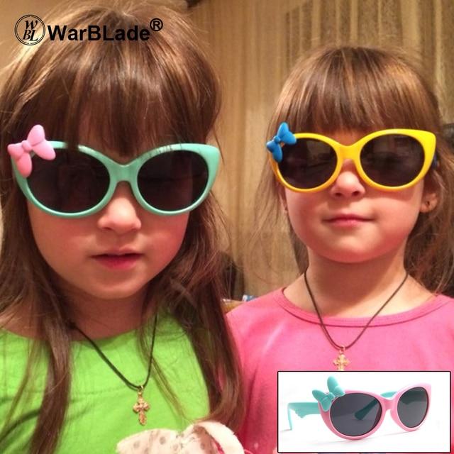 e79e04952c Girls Sunglasses Kids Sun glasses Children Glasses Polarized Lenses Girls  Boys TR90 Silicone UV400 Child Mirror Baby Eyewear 888