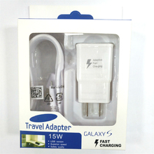 50 PCS EU/US Plug Quick Charger Fast Charging Adaptive+1.5M Micro USB Cable with Retail box For Samsung Galaxy S8 S6 цены