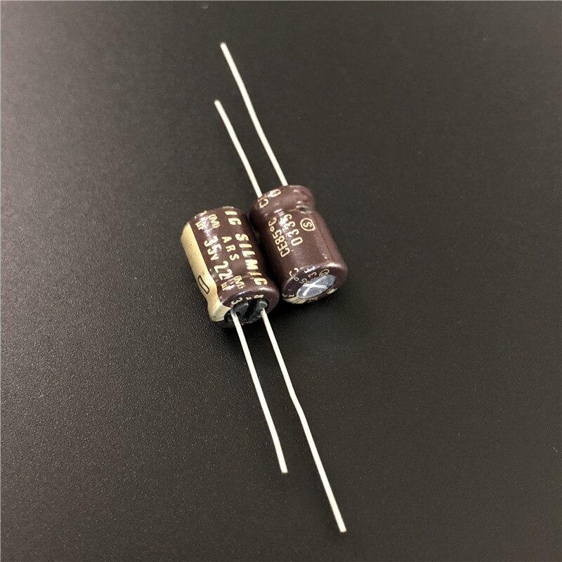 10pcs 10V47uF 10V Japan ELNA RE3 5x7mm Audio Capacitor