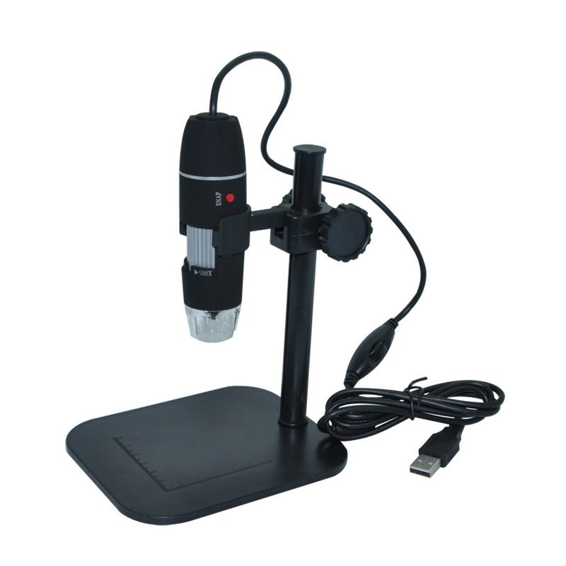 Digital USB Microscope 50X~500X Electronic Microscope 5MP USB 8 LED Digital Camera Microscope Endoscope Magnifier