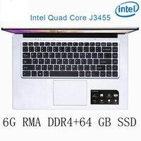 עבור לבחור P2-03 6G RAM 64G SSD Intel Celeron J3455 מקלדת מחשב נייד מחשב נייד גיימינג ו OS שפה זמינה עבור לבחור (1)