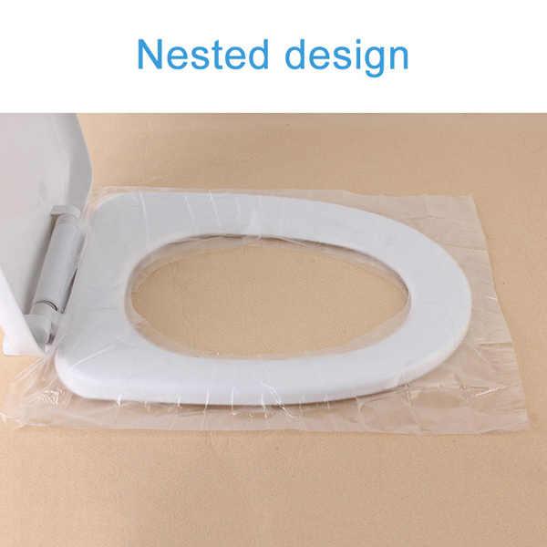 Jednorazowa nakładka na toaletę wodoodporny przenośny antybakteryjne bezpieczeństwo w podróży-QP2