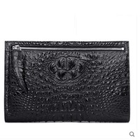 hlt thai crocodile skin The envelope bag male genuine leather real leather is in the fashion business hand bag
