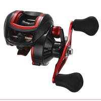 18+1 Bearing Metal 8.1:1 Bait Casting Reels Left/Right Hand Fish Wire Low Profile Reel Magnetic Brake Fishing Wheel