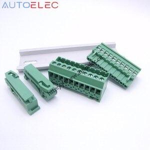 100 комплектов шаг 5,08 мм 12pin винтовой разъем клеммных блоков разъем ns35мм din-рейка вместо NO: UMSTBVK 2,5/12-G-5.08