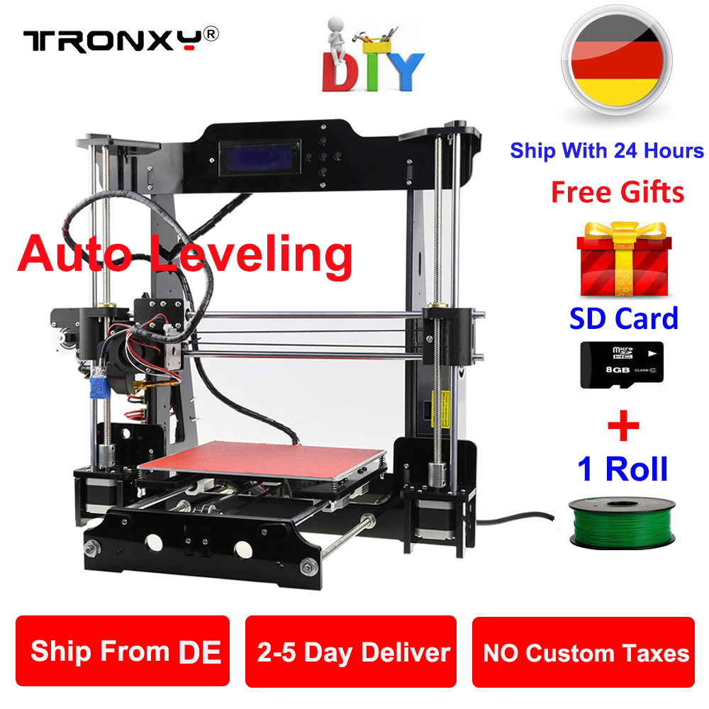 US Stock ANYCUBIC 4Max 3D Printer Modular Design Large Print Size 210X210X300mm