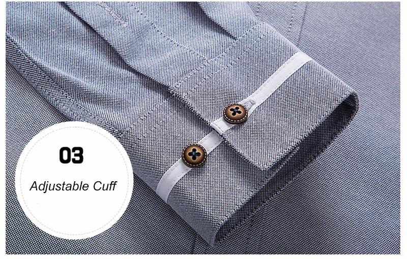 Business Sleeve Mandarin Clothes 16