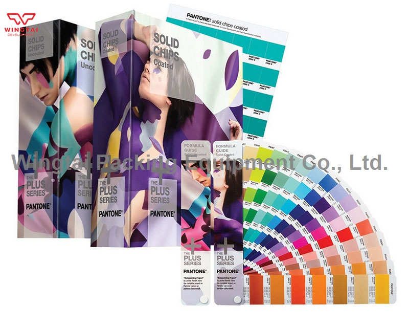 4 book PANTONE Swatch Book Solid Color Guide GP1608N (Formula Guides Coated/Uncoated & Solid Chips) original pantone plus series solid guide set gp1605n coated