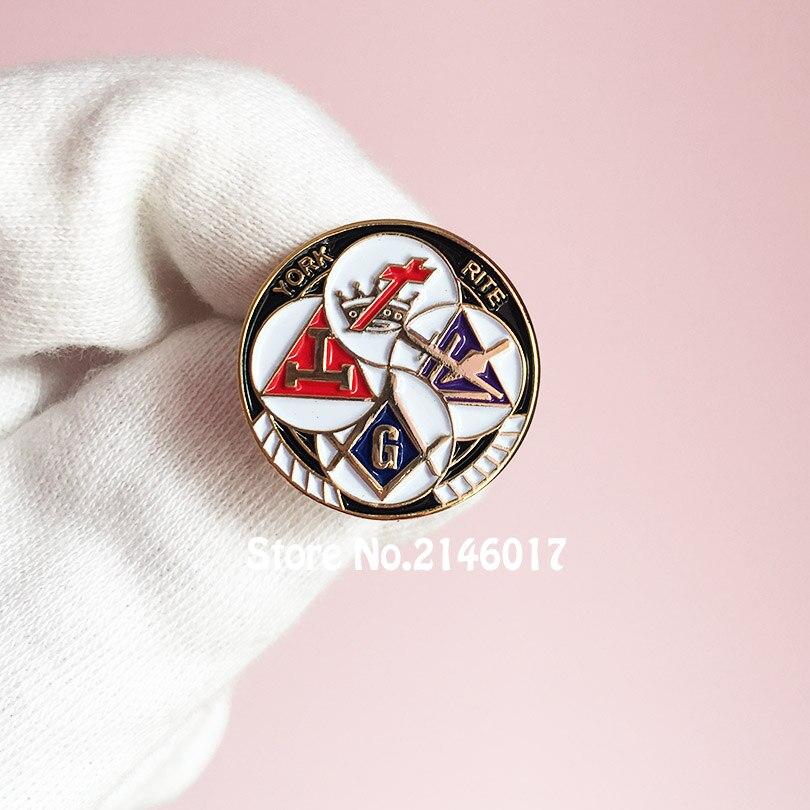 50pcs Knights Templar YORK RITE Custom Masonic Enamel
