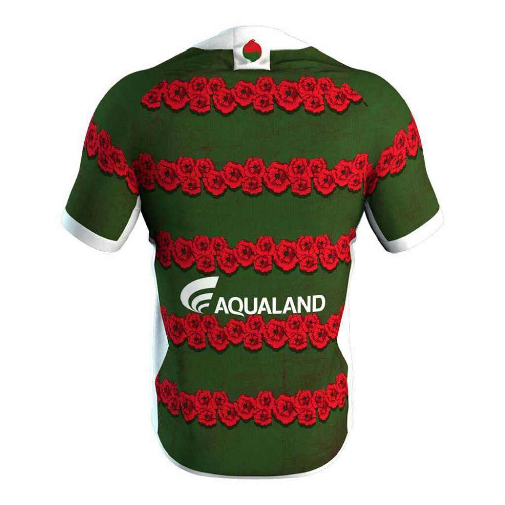 5090452186b ... RESYO for South Sydney Rabbitohs 2019 Men's Replica Commemorative Jersey  Rugby Sport shirt Size:S