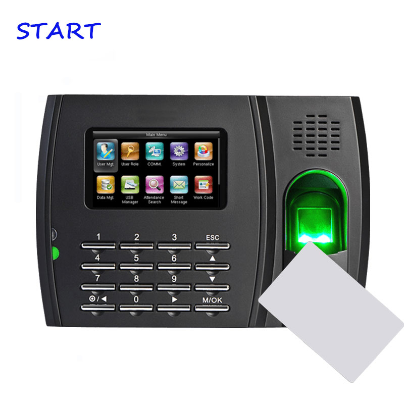 ZK U8 ID+IC Zk Attendance System Fingerprint Time Attendance Machine Biometric Fingerprint Recognition For Time Attendance