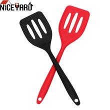 Силиконовая сковорода для жарки яиц и рыбы, лопатка для приготовления пищи, приспособления для жареной лопаты, кухонные инструменты, аксессуары для приготовления пищи