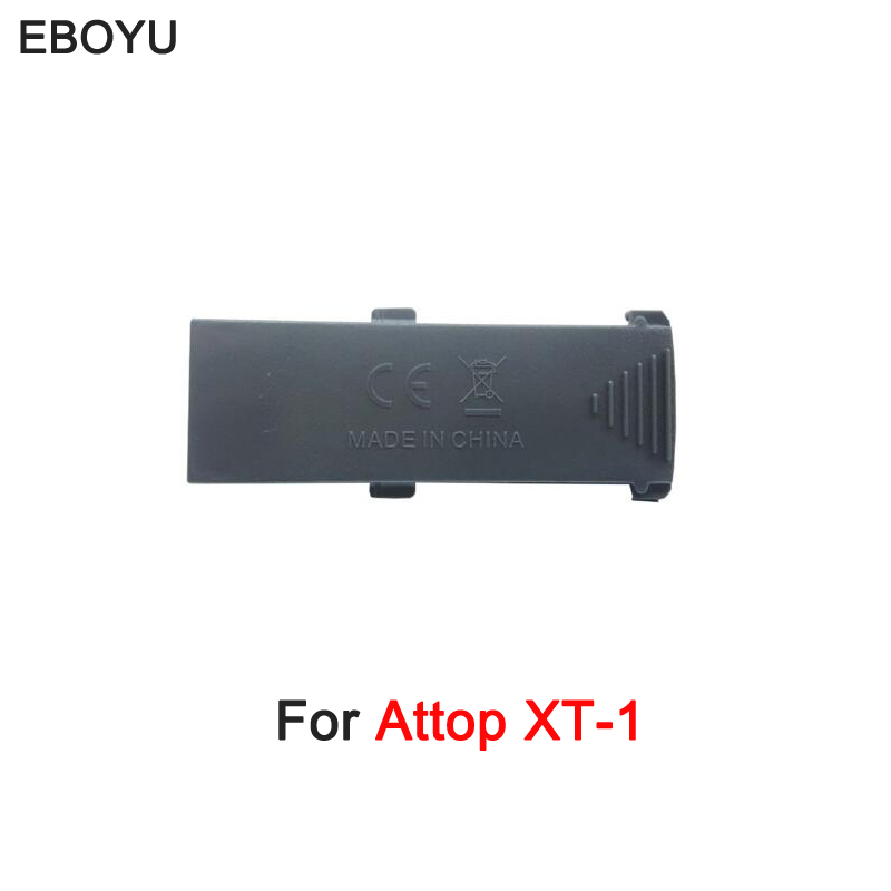 EBOYU(TM) 3.7V 800mAh Lip Battery for Attop XT-1 RC Drone FPV Drone XT-1 Foldable Quadcopter Drone