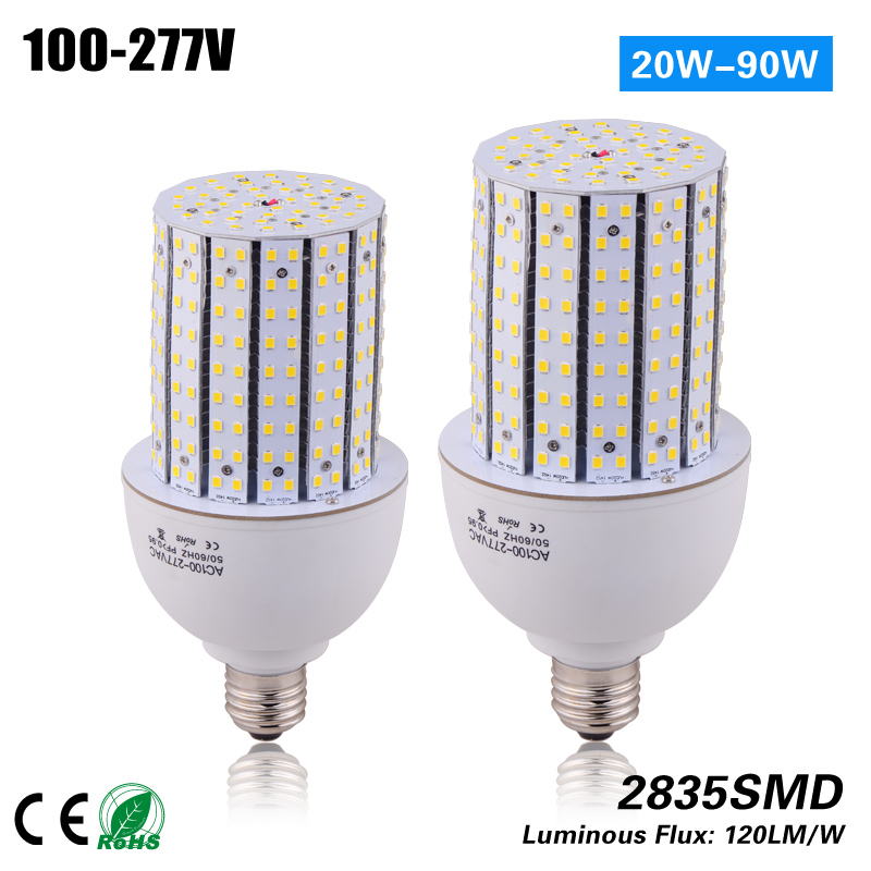 купить Free shipping 20w 14side e27 e40 led Corn Bulb for MH/HPS 75W indoor and outdoor light replacement CE ROHS ETL 100-277vac дешево