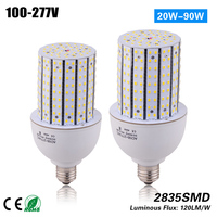 Free shipping 20w 14side e27 e40 led Corn Bulb for MH/HPS 75W indoor and outdoor light replacement CE ROHS ETL 100 277vac
