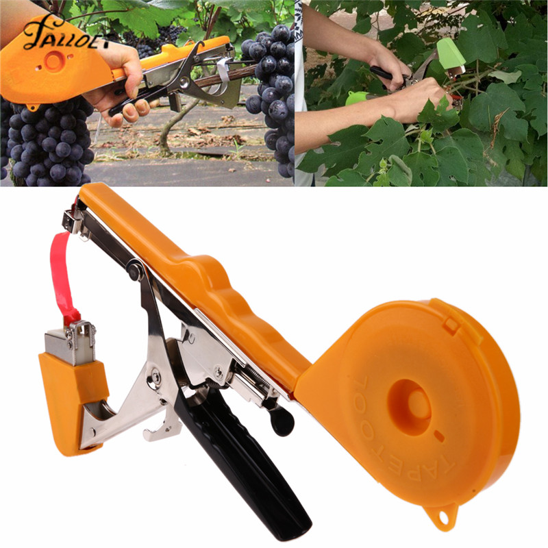 Garden Tools Plant Tying Tapetool Tapener Machine Branch Hand Tying Tapener Vegetables Grass Stem Strap Garding Tool