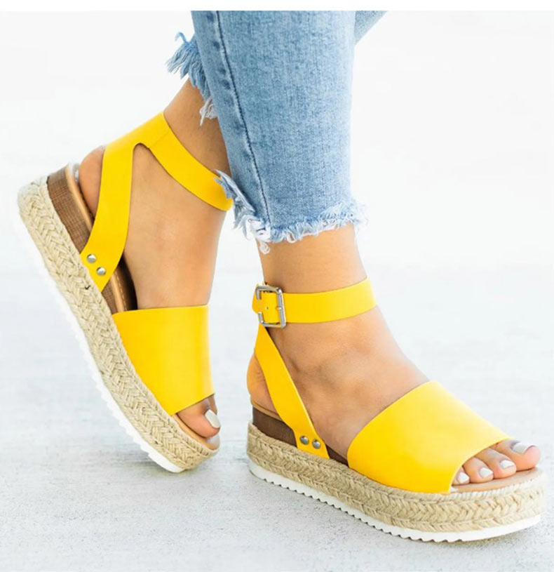 Women High Heels Sandals Summer Shoes Flip Flop Chaussures Femme Platform Sandals 31