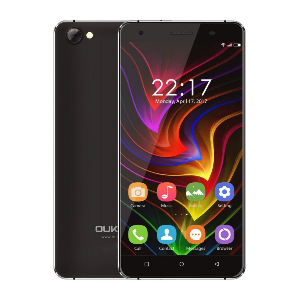In Stock Original OUKITEL C5 Mobile Phone 5.0 Inth 3G WCDMA MT6580A Quad Core Android 7.0 cellphone 2GB RAM 16GB Smartphone