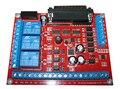 Eje Del Motor de pasos TB6600 DEL CNC 6 ejes placa de interfaz de tarjeta de interfaz MACH3 máquina de Grabado
