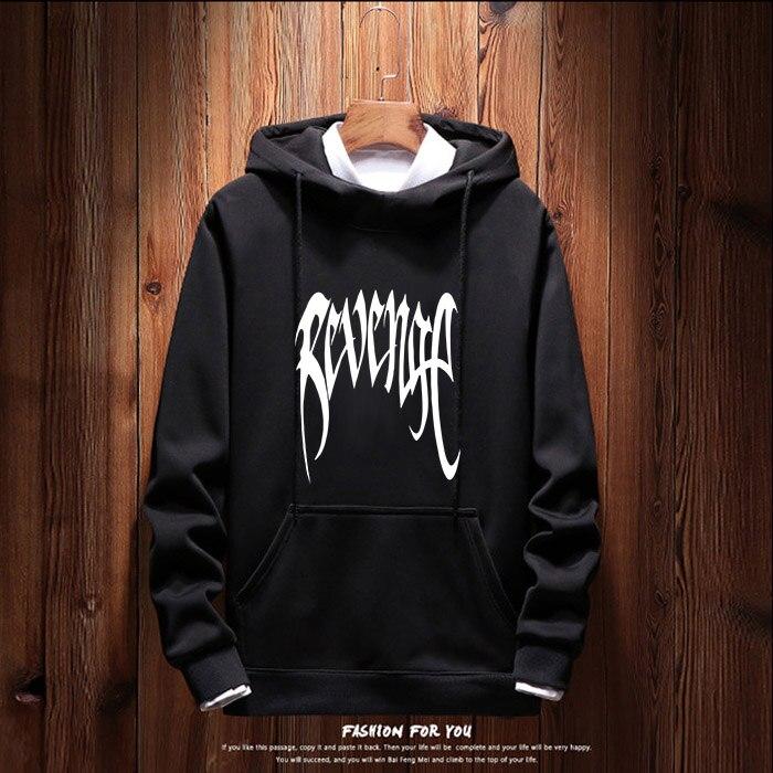 revenge hoodie men 2019 spring hoodies mens streetwear autumn hoody male hoddies harajuku black clothes mans clothing