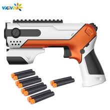 Ручной пистолет для Nerf, мягкие пули, игрушечный пистолет, пули, костюм для Nerf, игрушечный пистолет, Дротика, Идеальные игрушки для улицы