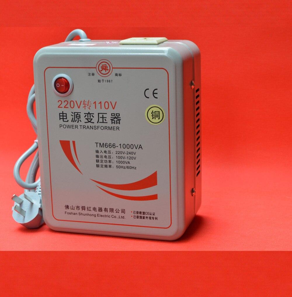Transformateur de bobine toroïdal 110 V à 220 V 2000 W/3000 W convertisseur de tension générateur de puissance pur cuivre bobine produit sûr