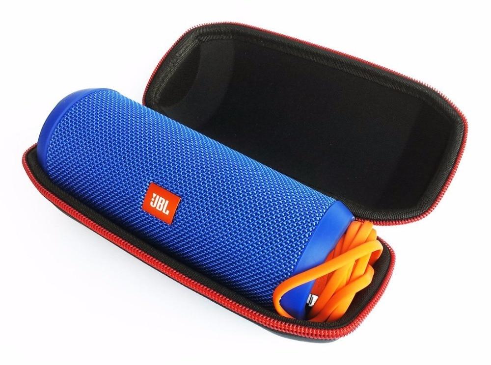 Bluetooth Speaker Case Best Portable Hard Carry Bag Box Protective Cover Case Headphone Case For JBL Flip 3 or JBL Flip 4