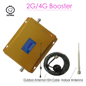 Dual Band DCS 1800MHz CDMA 850Mhz Signal Repeater Cell Phone Signal Booster DCS CDMA Signal Amplifier 4G FDD booster