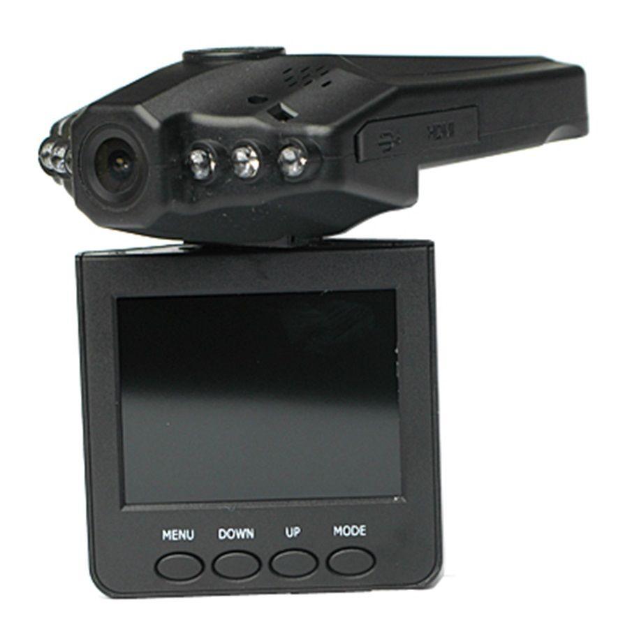 H198 Car DVR Dash Camera 2 5 TFT LCD 270 degree rotation screen 1080P Color IR