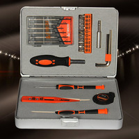 Hot 100 Brand New And High Quality 28 Pieces Mini Multi Purpose Mechanics Home Tool Set