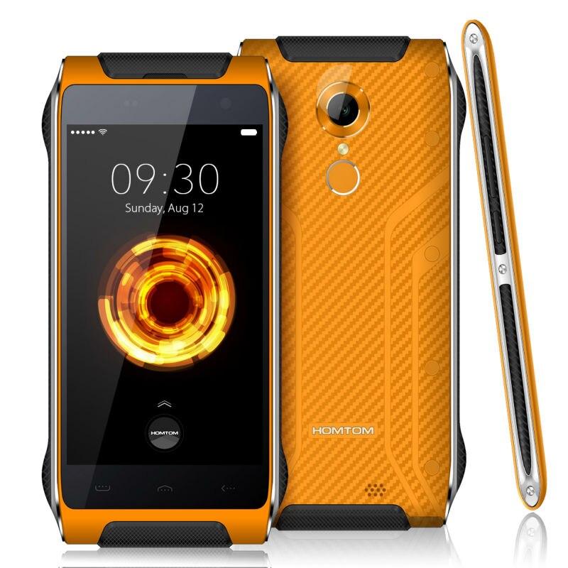 D'origine HOMTOM HT20 Pro Smartphone MTK6753 Octa base Android 6.0 3G RAM 32G ROM 13MP 4.7 Pouce IP68 étanche Téléphone Portable