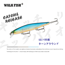 11cm 13g Minnow Fishing Lure Artificial Bait Sinking Hooks Crankbait 0.6m-1.8m Fishing Tackle ilure osprey minnow fishing bait multi section slowly sinking lure with hooks