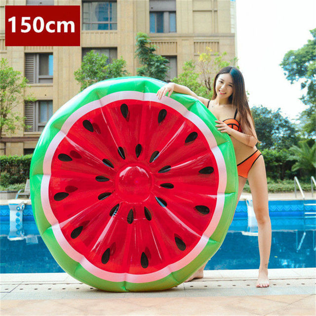 Giant Inflatable Swimming Rings Flamingos Pool Floats 4