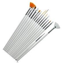Yueyue Sugarcraft Инструменты для украшения торта 15 шт. кисть для смазывания торта помадка Инструменты ручка инструменты