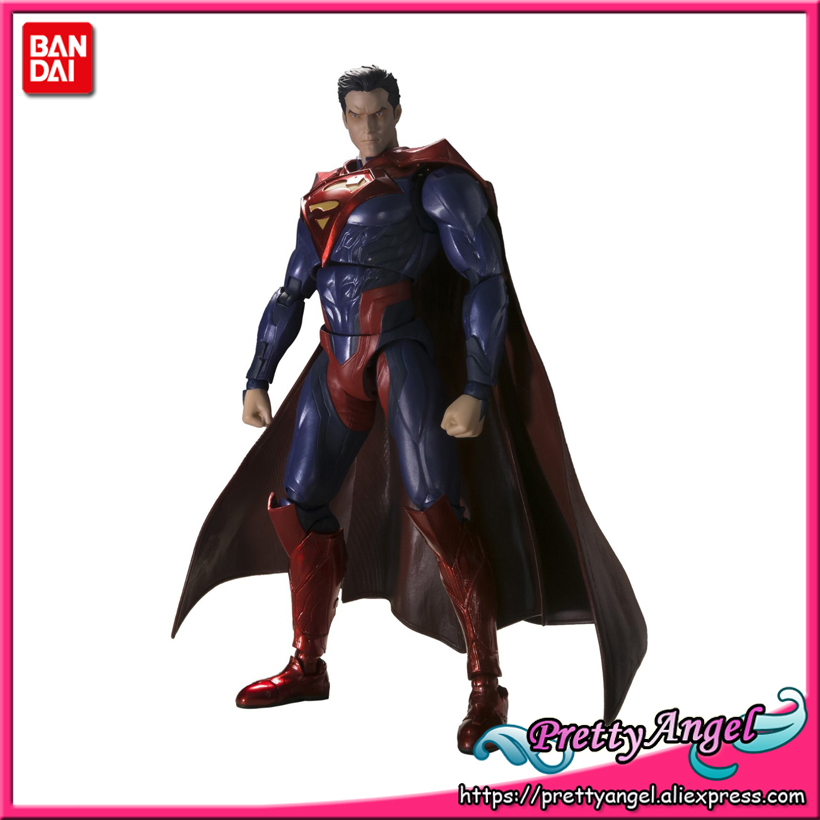 PrettyAngel - Genuine Bandai Tamashii Nations S.H.Figuarts Exclusive Injustice Superman Injustice Ver. Action Figure tt tf ths 02b hybrid style black ver convoy asia exclusive
