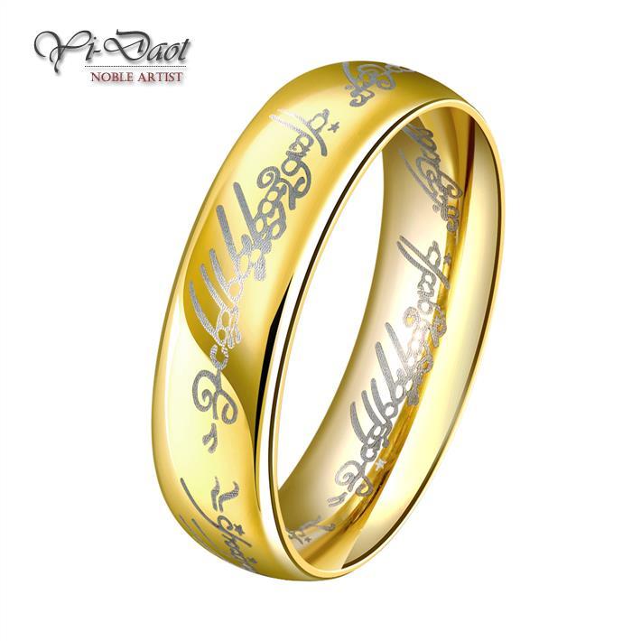 Rings For Women Individuality Alphabet Ring Set Vintage Romance ...