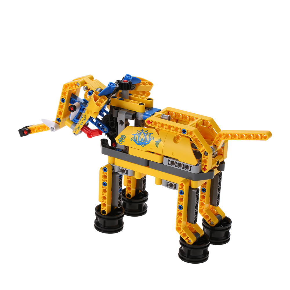 Attractive Building Kits for Boy Gift Assemble toys Construction Set Elephant and Dog Assemble Toy Bright Color