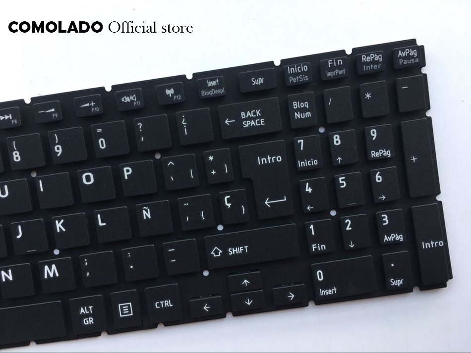 SP Spanish keyboard For Toshiba Satellite L50-B S50-B L50D-B L50T-B L50DT-B L55(D)-B S55-B S55T-B S55D-B black keyboard SP Layout (2)