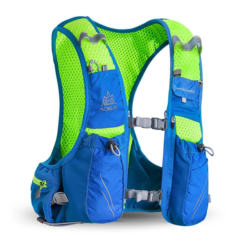 AONIJIE 10L course hydratation gilet sac à dos hommes femmes vélo plein air Sport sacs Trail Marathon Jogging cyclisme randonnée sac à dos - 6