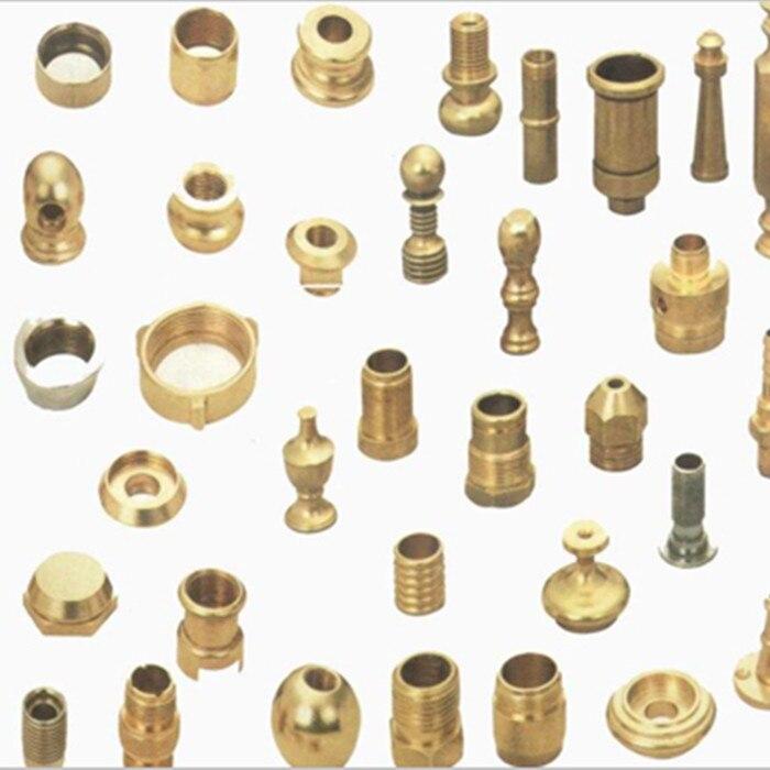 custom service precision aluminium parts stainless screws brass parts CNC machining Small order
