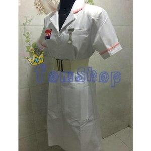 Image 3 - バットマンダークナイトジョーカーナースドレス制服ハロウィン看護師の衣装衣装カスタムメイド