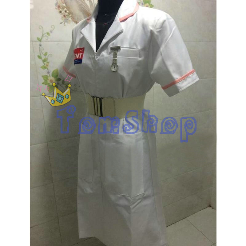 Image 3 - Batman Dark Knight Joker Nurse Dress Uniform Halloween Nurses Outfit Costumes Custom Made-in Movie & TV costumes from Novelty & Special Use