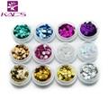 Kads nail art decoraciones del copo de nieve diseño glitter polvo de uñas diseño de uñas y todo para uñas