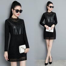 YICIYA black velvet plus size dress women long sleeve large big 4xl 5xl mini dresses winter warm solid clothes bodycon elegant