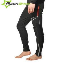 Rockbros Cycling Pants Men Women Reflective Bicycle Pants Bike Tight Long Trousers Pantalones Moto Underwear 2017 Pants Cycling
