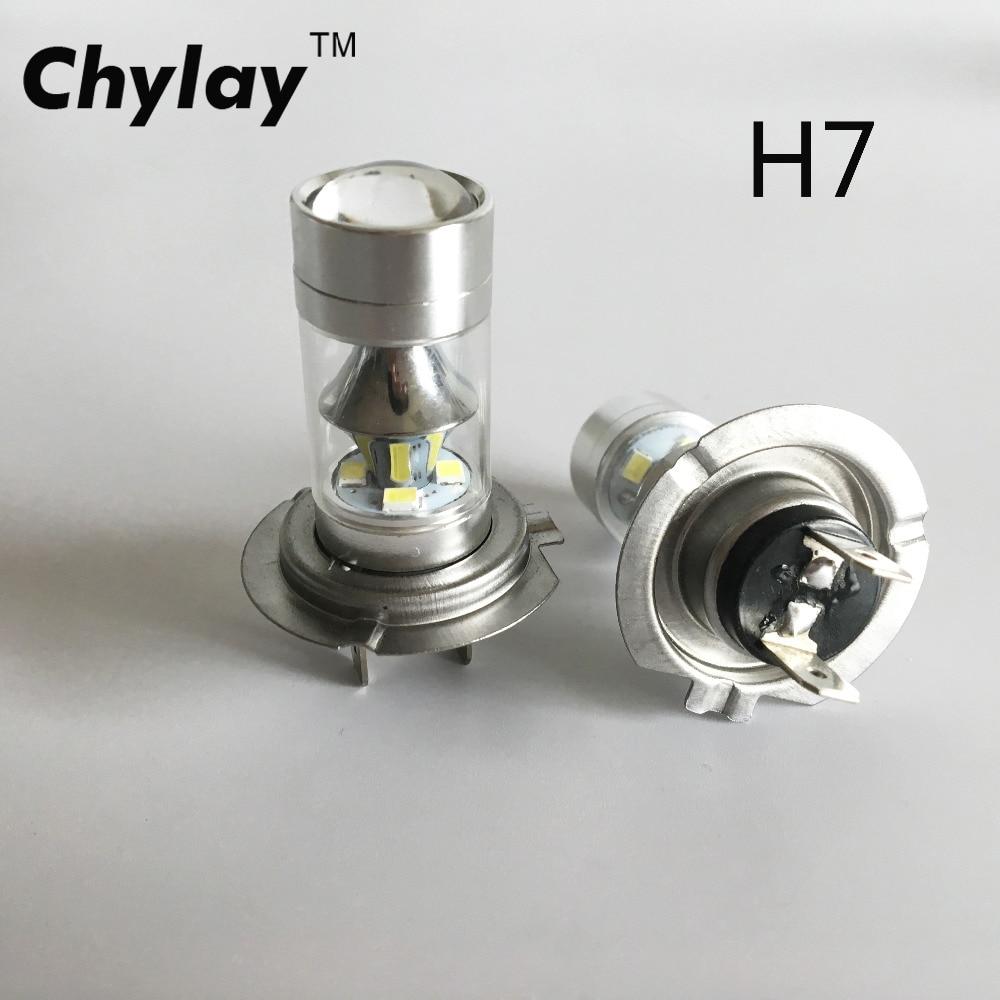 Plug & Play 60W H7 LED luči za meglo avtomobila H11 H8 H9 9005 HB3 - Avtomobilske luči - Fotografija 1