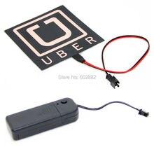 Uber, 10x10cm Uber EL Backlight, EL Panel + 3V Inverter
