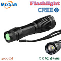 ZK90 CREE XM-L T6 4000LM Powerful LED Flashlight LED Torch Zoomable Tactical Flashlight Portable Light